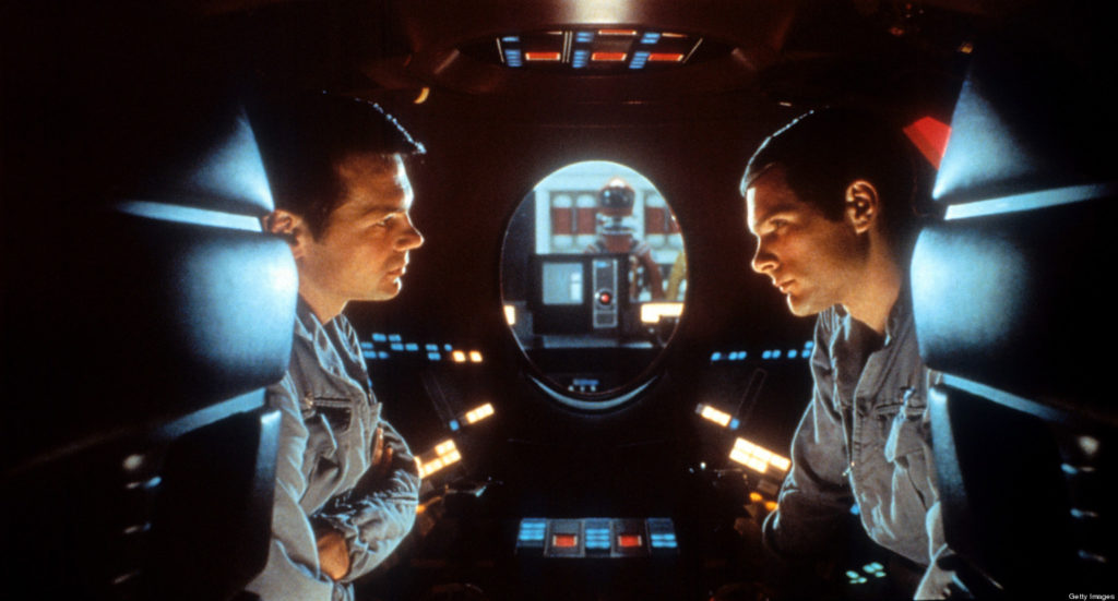 Gary Lockwood And Keir Dullea In '2001: A Space Odyssey'