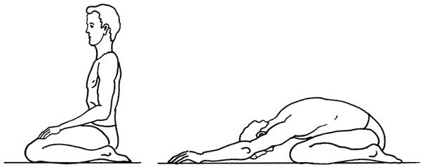 Болит спина во время медитации